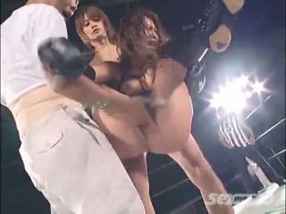 Japanese wrestling sex mix