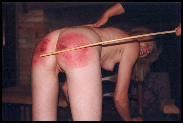 Nude Caning