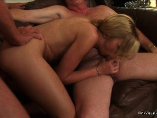 Amateur wife tricked into threesome