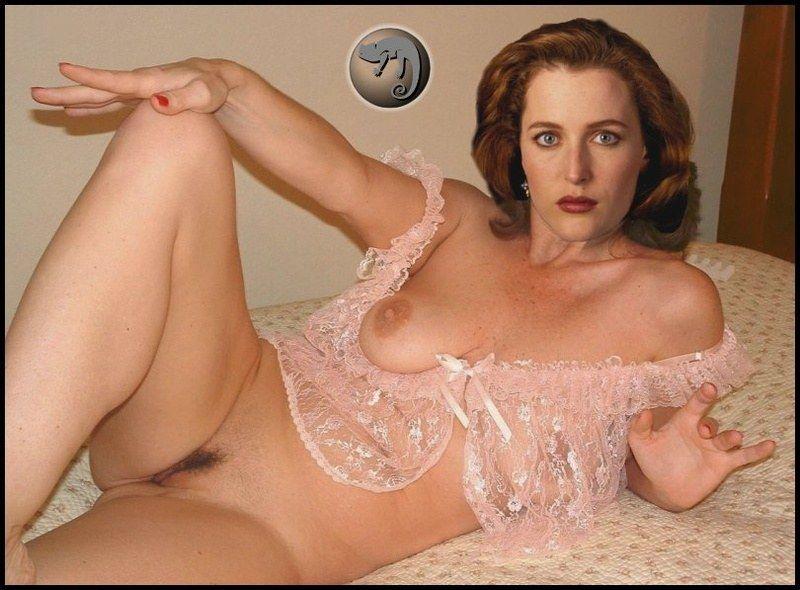 Gillian anderson porn - Porn pic.