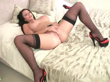 were visited with black pantyhose footjob tempting It's just