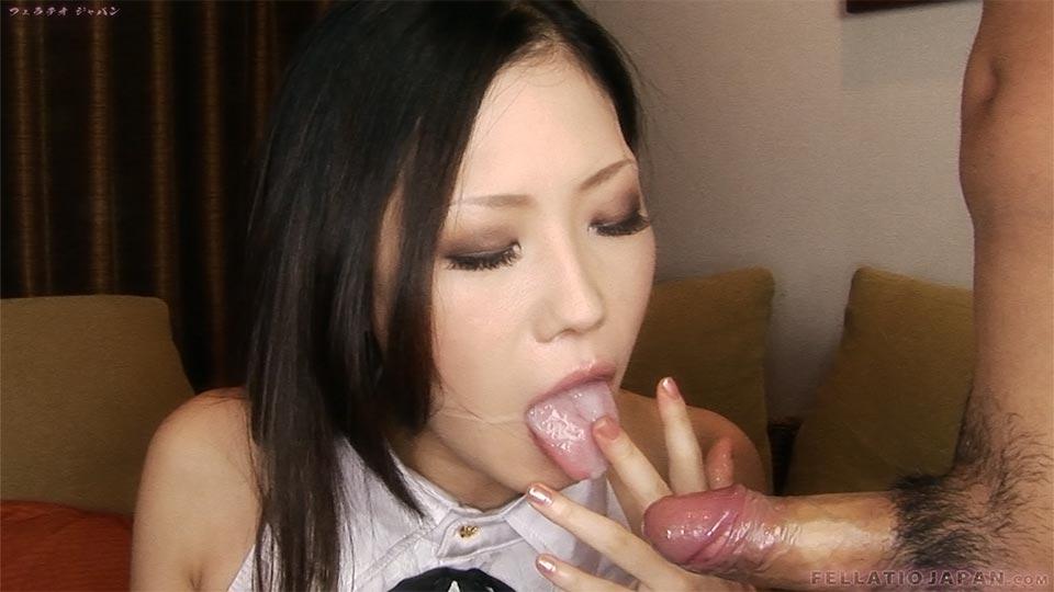 Japanese blowjob cum